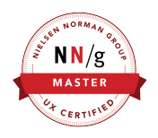 Nielsen Norman Group UX CERTIFIED